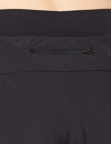 Under Armour UA Qualifier Speedpocket 2-In-1 Short Pantalón Corto, Mujer, Negro (Black/Black/Reflective 001), S