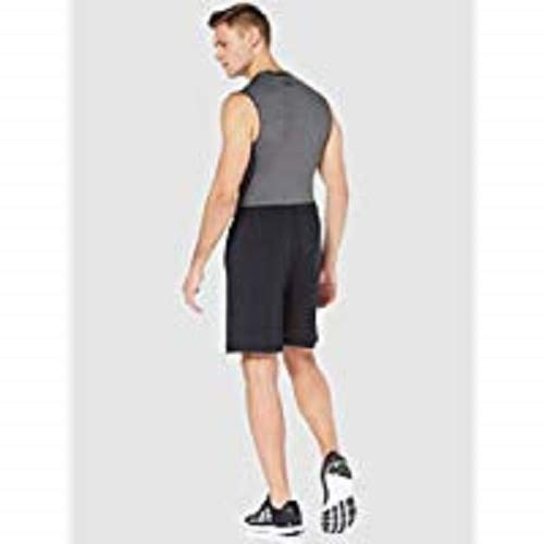 Under Armour UA RAID 8 Shorts, pantalón corto Hombre, Negro (Black/Graphite (001)), L