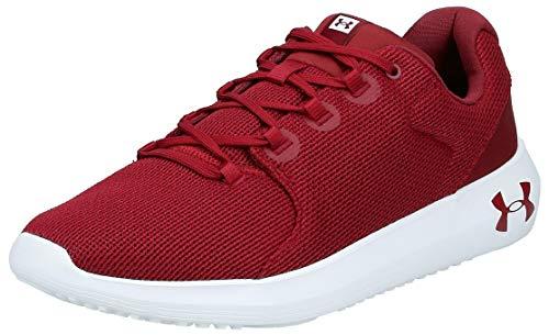 Under Armour UA Ripple 2.0, Zapatillas de Running para Hombre, Rojo (Cardinal/White/Cardinal (601) 601), 41 EU