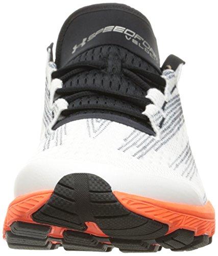 Under Armour UA Speedform Velociti Laufschuhe, Zapatillas para Correr para Hombre, Blanco/Negro/Pxf, 42 EU