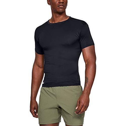 Under Armour UA TAC Heatgear Comp tee Camiseta, Hombre, Negro (Black/Clear 001), L