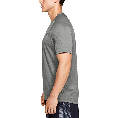 Under Armour UA Tech 2.0 SS tee Novelty Gimnasio, Camiseta Transpirable, Hombre, Verde, L
