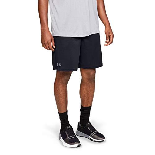Under Armour UA Tech Mesh Short Pantalones Cortos, Hombre, Negro (Black/Pitch Gray 001), L