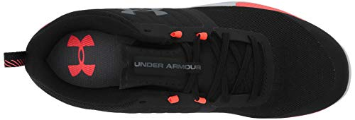 Under Armour UA TriBase Thrive, Zapatillas Deportivas para Interior para Hombre, Negro (Black/Beta Red/Pitch Gray (005) 005), 40.5 EU