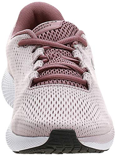 Under Armour UA W Charged Pursuit 2, Zapatillas de Running para Mujer, Rosa (Dash Pink/White/Jet Gray), 39 EU