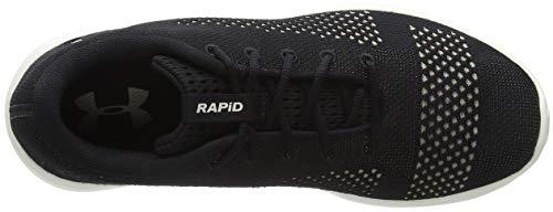 Under Armour UA W Rapid, Zapatillas de Running para Mujer, Negro (Black/Ivory/Metallic Faded Gold 004), 38 EU