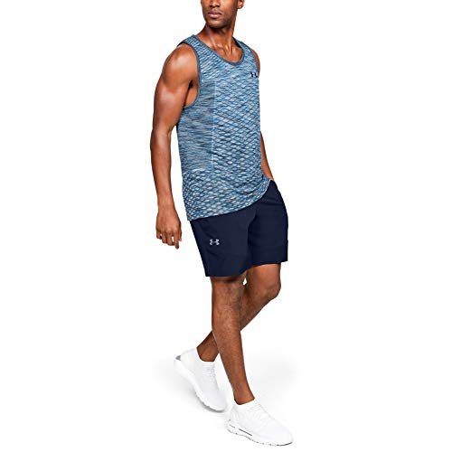 Under Armour Vanish Woven Short Pantalón Corto, Hombre, Azul (Academy/Pitch Gray 408), L