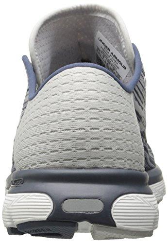 Under Armour Women's Speedform Velociti Graphic Running Shoe, Apollo (962)/Glacier Gray, 7