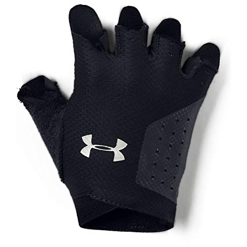 Under Armour Women's Training Glove Guantes, Mujer, Negro (Black/Silver 001), S