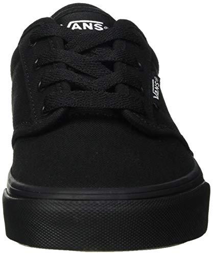 Vans Atwood, Zapatillas para Niños, Negro (Black/Black 186), 27 EU