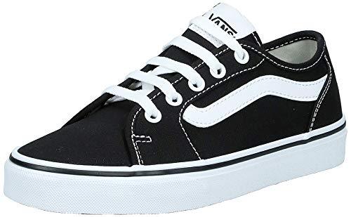 Vans Filmore Decon, Zapatillas para Mujer, Negro (Black/True White 1wx), 37 EU
