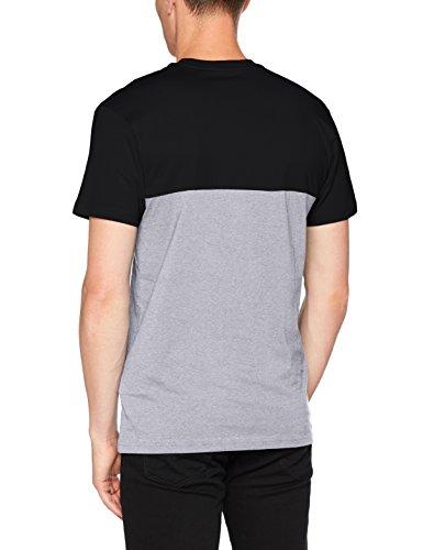 Vans Herren Colorblock Tee T - Shirt, Schwarz (Black/athletic Heather), XX-Large