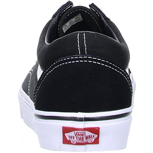 Vans Old Skool, Zapatillas Unisex Adulto, Negro (Black/White), 36