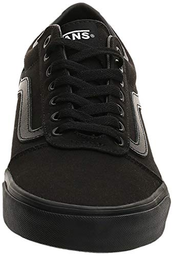 Vans Ward Canvas, Zapatillas para Hombre Negro (Canvas/Black 186) 38.5 EU