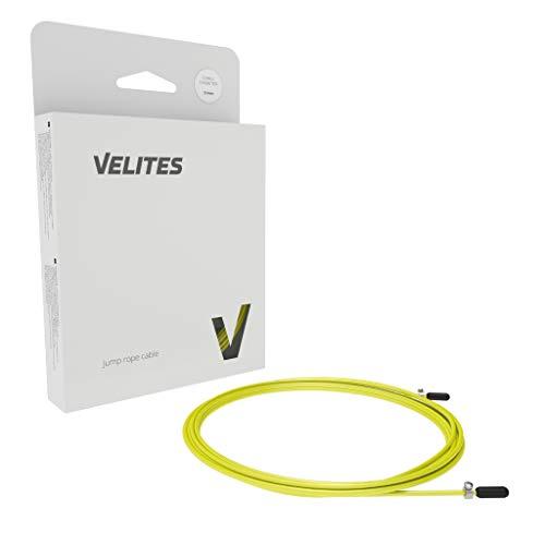 Velites Cable Amarillo Entrenamiento 2,5 MM Repuesto Comba, Adultos Unisex, Talla Única