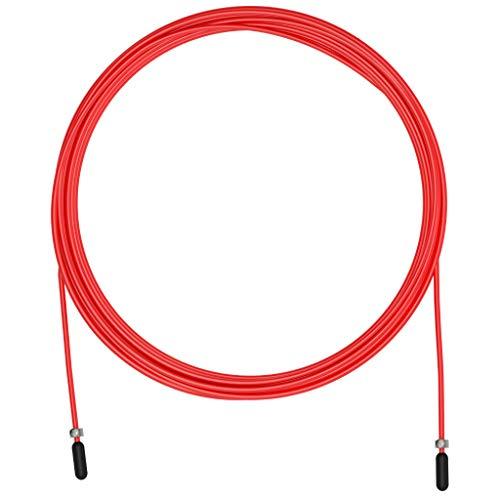 Velites Cable Rojo Entrenamiento 2,5 MM Repuesto Comba, Adultos Unisex, Talla Única