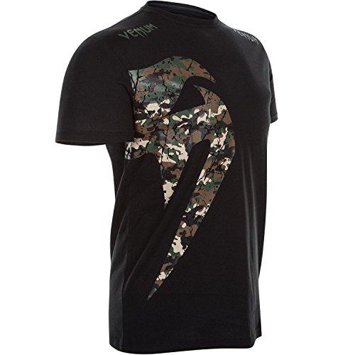 Venum Giant Camiseta, Hombre, Negro/Camuflaje, M