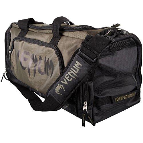Venum Trainer Lite - Bolsa de Deporte, Gym, 57 Litros, Unisex Adulto, Caqui/Negro, Talla Unica
