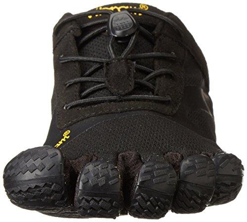 Vibram FiveFingers Kso Evo, Zapatillas de Deporte Exterior, Hombre, Negro (Black), 42 EU