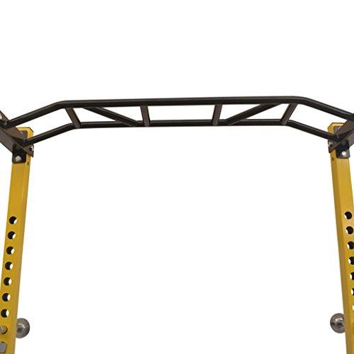 vidaXL Jaula de Ejercicios de Musculación 140x145x214cm Acero Máquina Gimnasio