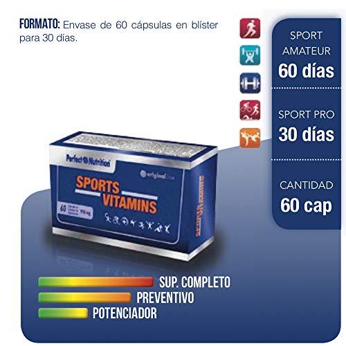 Vitaminas para deportistas multivitaminas en cápsulas para Hombre/Mujer Suplemento vitaminico para evitar la fatiga y mejorar el rendimiento deportivo. Calidad extrema