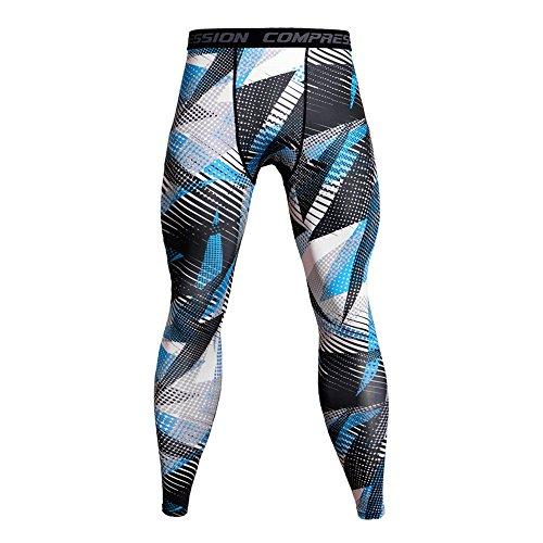 VPASS Pantalones para Hombre,Impresión Chándal de Hombres Deportivos Running Pants Jogging Pantalon Fitness Gym Slim Fit Pantalones Largos Pantalones Ropa de Hombre Skinny Pantalones