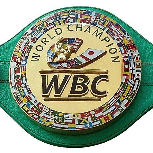 WBC Championship - Cinturón de boxeo (piel, réplica de alta calidad)