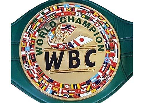 WBC Championship Cinturón de boxeo réplica de cinturones de tamaño adulto