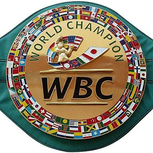 WBC Championship - Cinturón de boxeo réplica de cinturones para adulto