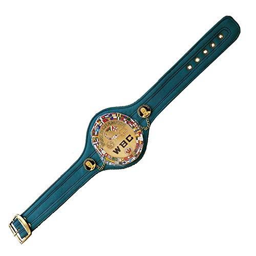 WBC Championships - Cinturón de boxeo (72 cm), color verde