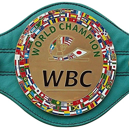WBC WBA WBO IBF IBO Championships - Cinturón de boxeo réplica de varios estilos Mini 5 cinturones Wbc mini