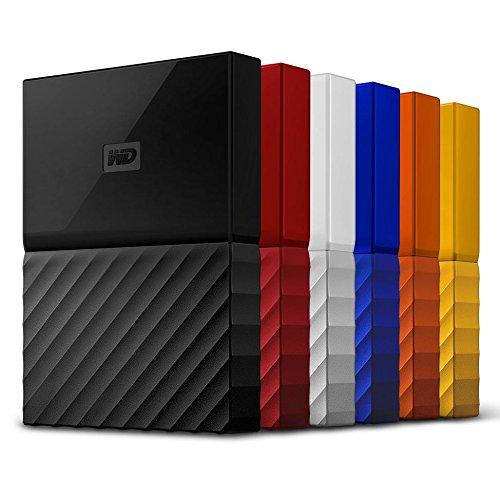 WD My Passport - Disco Duro Portátil de 1 TB y Software de Copia de Seguridad Automática, Azul