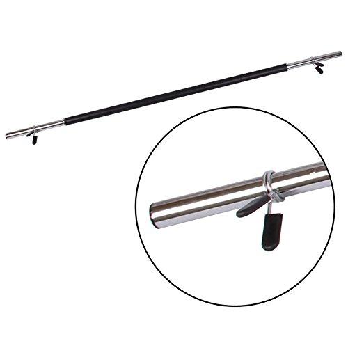 WEIHUIMEI - 2 abrazaderas de barra de pesas para gimnasio de 28 mm, 30 mm, 50 mm, con mancuernas, color como muestra la imagen, tamaño 28 mm, 0.01, 0.39 x 0.39 x 0.39inches