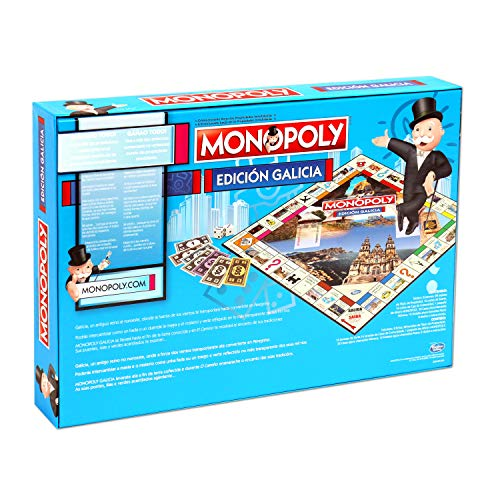 Winning Moves Monopoly Galicia (10223), multicolor, 40 x 27 cm (ELEVEN FORCE