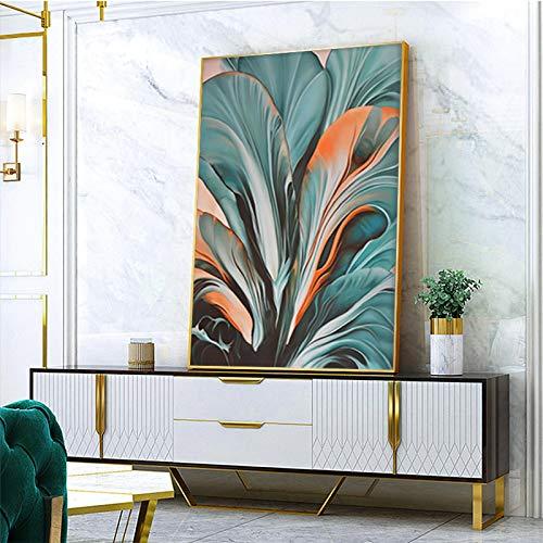 wojinbao Sin Marco Resumen follaje Sala de Estar Dormitorio Moderno decoración para el hogar póster Lienzo y Pared