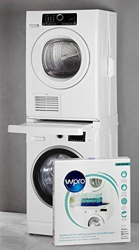 Wpro SKS101 Stacking kit - Piezas y accesorios de secadoras (Stacking kit, White, Plastic, Box, CE, 600 mm)