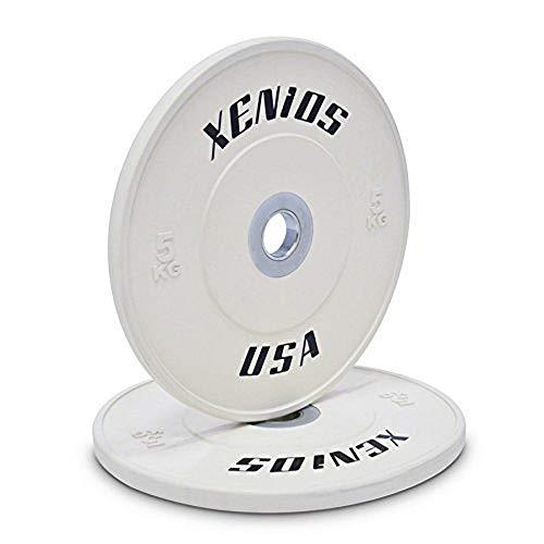 Xenios USA PSBPCRBPL5 Disco Halterofilia - - Competition Bumper Plate