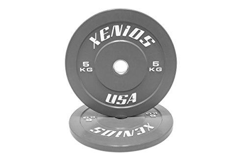 Xenios USA PSBPRBPL5 Disco Halterofilia - - Contest Bumper Plate