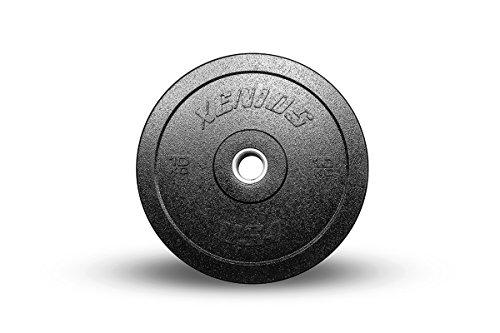 Xenios USA XSBPRBPLS10 Disco Halterofilia - - Heavy Duty Bumper Plate