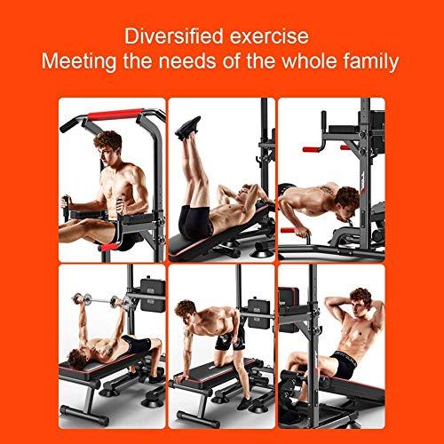 YF-SURINA Equipo de deportes de interior Stepper, Fitness Pedal Fitness Estación de entrenamiento multifuncional para el hogar, Estación de inmersión paralela Barras Cross Training Fitness Home Gym P