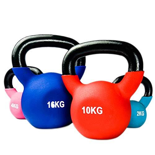 YXST Kettlebell 2kg/4kg/6kg/8kg/10kg/12kg/14kg/18kg/20kg Equipo De Entrenamiento De Gimnasio En Casa Fuerza Fitness Entrenamiento con Pesas Pilates,2KG