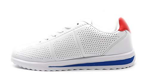 Zapatillas Blancas Hombre Casual Muy Transpirable y Ligero Deportivo Blanco