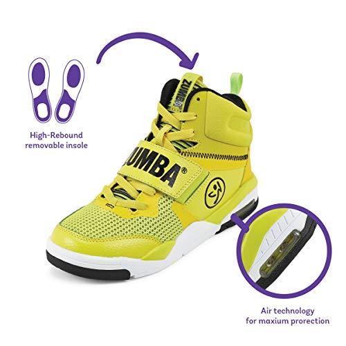 Zumba Air Classic Zapatillas Altas de Mujer Dance Fitness Entrenamiento Sneakers de Moda